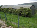 Corrugated iron barn at Merkland in the Stinchar valley - geograph.org.uk - 262959.jpg