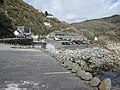 Cottages, car park and cafe at Lamorna Cove - geograph.org.uk - 781959.jpg