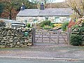 Cottages at Pentre Castell, Llanberis - geograph.org.uk - 1590720.jpg