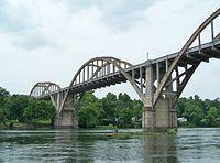 Cotter Bridge, Baxter County, Arkansas.JPG