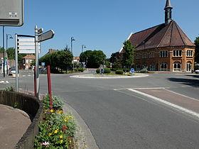 Le centre de Courchelettes.