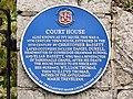 Court House Plaque, Llantwit Major - geograph.org.uk - 1051747.jpg