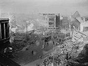 The city centre following the November 14th air raid
