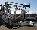 Cranes and nets, Bangor harbour - geograph.org.uk - 728834.jpg
