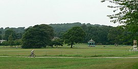 Cricket pitch, Horsforth Hall Park - geograph.org.uk - 195311.jpg