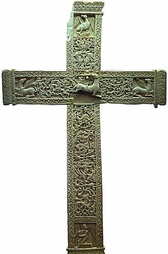 Crucifix of Ferdinand and Sancha - Reverse.