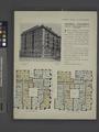 Cromwell Apartments, northeast corner Riverside Drive and 137th Street; Plan of first floor; Plan of upper floors (NYPL b12647274-465558).tiff