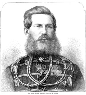 Crown Prince Frederick William of Prussia - Illustrated London News August 20, 1870 - Crop.PNG