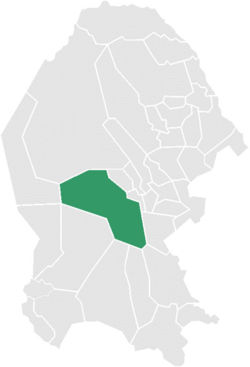 Municipality of Cuatrociénegas in Coahuila