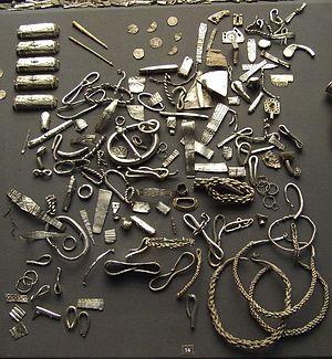 Our Top Ten Treasures - Image: Cuerdale hoard viking silver british museum