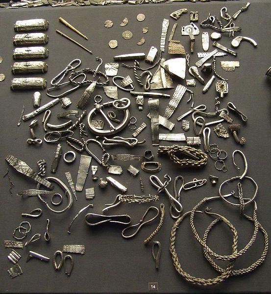 File:Cuerdale hoard viking silver british museum.JPG