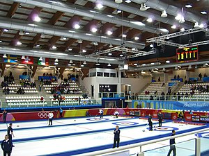 The Curling Arena Of Pinerolo