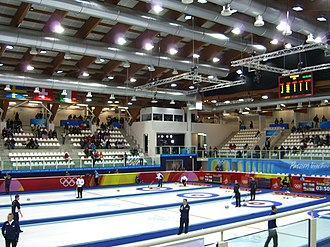 Curling at the 2006 Winter Olympics - The curling arena of Pinerolo