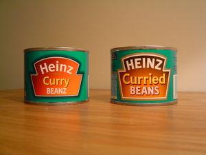 Heinz Baked Beans - Image: Curry Beanz
