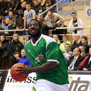 Curtis Millage - Millage at the 2011 Superleague All-Star Game