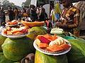 Cut Fruits - Gangasagar Fair Transit Camp - Kolkata 2012-01-14 0850.JPG