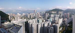 Chai Wan - Panorama of Chai Wan