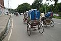 Cycle Rickshaws - University of Dhaka Campus - Dhaka 2015-05-31 2490.JPG