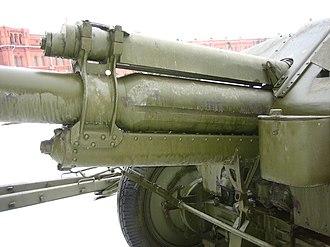 152 mm howitzer M1943 (D-1) - Image: D1 Saint Petersburg 4