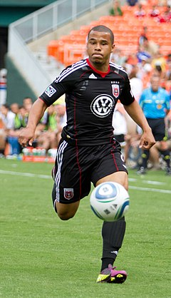 DC United vs Houston Dynamo Charlie Davies.jpg