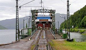 Rjukan Line - Image: DS Ammonia Mæl 2004 SRS