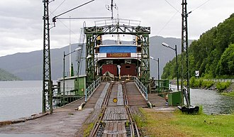 Rjukan Line - Image: DS Ammonia Mæl 2004 SRS