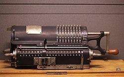 "Odhner type ""La Dactyle"" calculation machine"