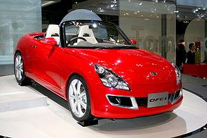 Daihatsu Copen - OFC-1 at the 2007 Tokyo Motor Show