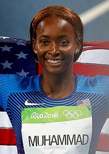 Dalilah Muhammad American hurdler