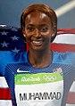 Dalilah Muhammad, dos Estados Unidos, vence os 400m com barreiras nos Jogos Rio 2016.jpg