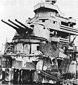 Damaged bow of USS New Orleans (CA-32), circa in December 1942, following the Battle of Tassafaronga.jpg
