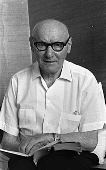 Isaac Bashevis Singer in 1969
