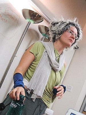 Danah boyd - danah boyd in 2005, a speaker at Digital Identity conference in Chicago.