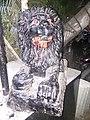Danger Statue of Lion in Pune.jpg