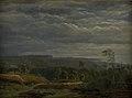 Dankvart Dreyer - A View of a Wooded Landscape in Jutland - KMS3932 - Statens Museum for Kunst.jpg