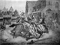 Das Turnier zu Basel zwischen Heinrich von Ramstein und dem Spanier Don Merlo (Karl Jauslin).jpg