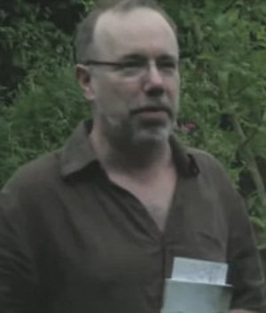 David Belbin - David Belbin on the book launch of Secret Gardens