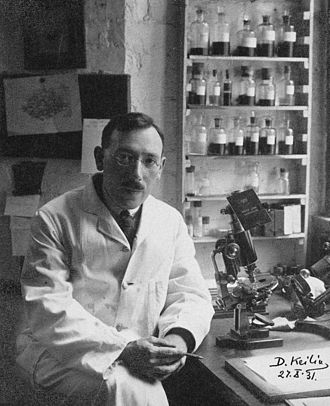 David Keilin - David Keilin in 1931