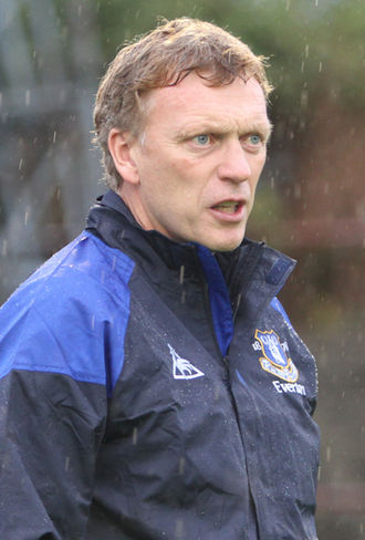 David Moyes - Moyes as manager of Everton in 2011