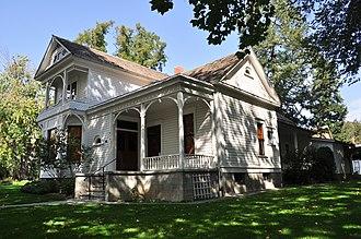 National Register of Historic Places listings in Columbia County, Washington - Image: Dayton, WA Brining Boldman House 04