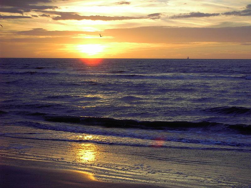 La panne sur la c te belge les joies de vivre de ch - Heure du coucher de soleil aujourd hui ...