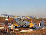 De Havilland Tiger Moth at Coomalie Creek Airfield during the 2012 Merlin Magic.jpg