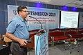 Debasish Sinha Delivering Lecture - Medical Disorders in Sports Personnel - SPORTSMEDCON 2019 - SSKM Hospital - Kolkata 2019-03-17 3444.JPG