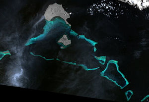 Deboyne Islands - Image: Deboyne Islands (Landsat)