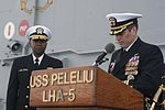 Decommissioning of the amphibious assault ship USS Peleliu (LHA-5) at Naval Base San Diego 150331-N-DC018-183.jpg