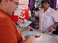 Deep-fried butter at State Fair of Texas 2009b.jpg