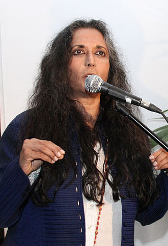 Deepa Mehta - Mehta speaking at the 7th Annual Canadian Filmmakers' Party in 2012