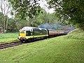 Deltic gala; Bluebell Railway (geograph 5566407).jpg
