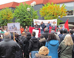 2015 Ankara bombings - The protests by Turks living in the Netherlands