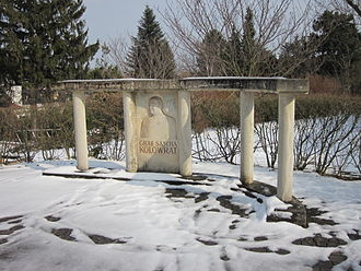 Alexander Kolowrat - Kolowrat memorial at the Wien-Film studio, Vienna-Sievering